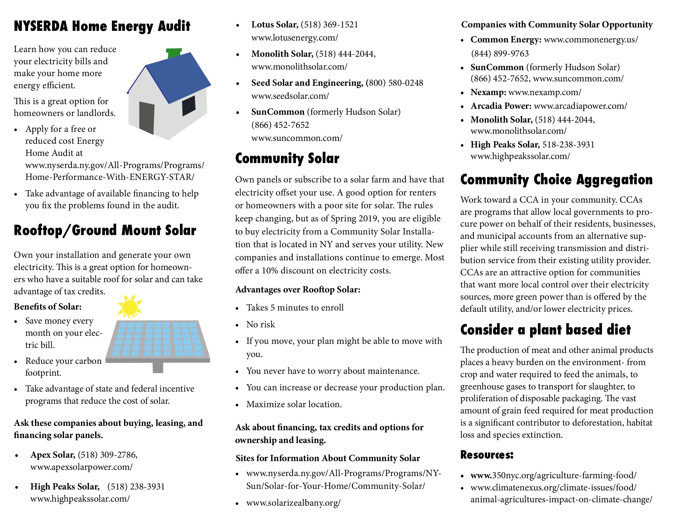 Go Green Leasing >> One Stop Information For Going Green Community Advocates For A
